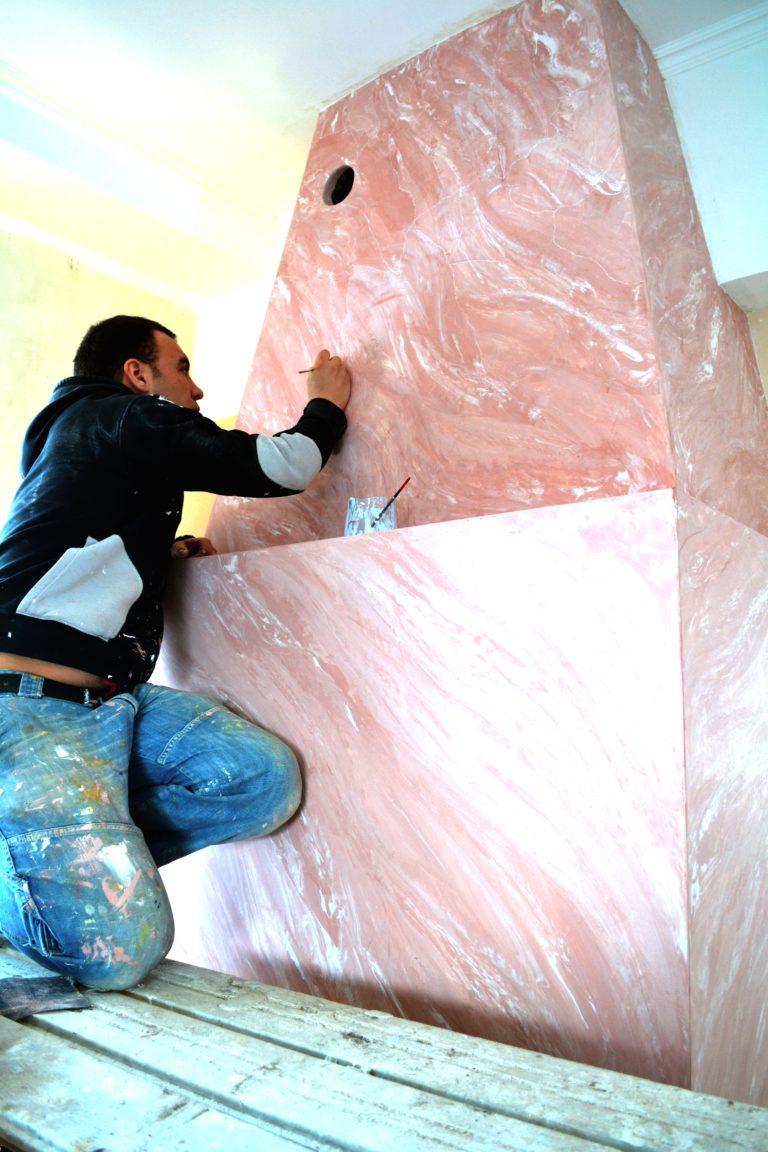 Мастер классы по нанесению декоративной штукатурки в спб
