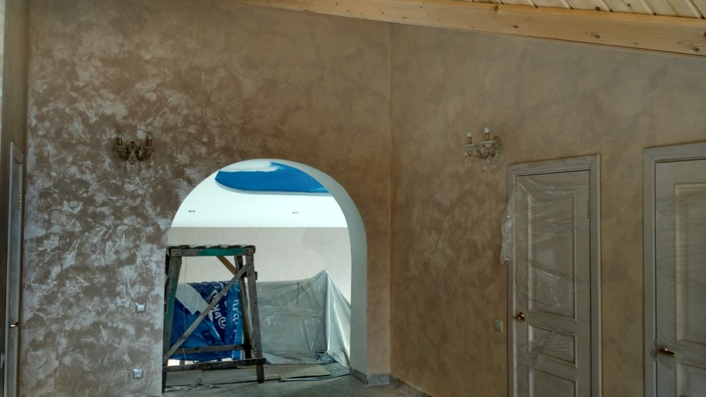 Декоративная штукатурка краска песок Sanmarco marcopolo sable декоративное покрытие песчаные вихри