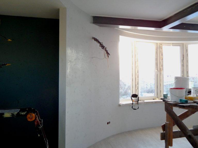 отделка гостиной в стиле лофт