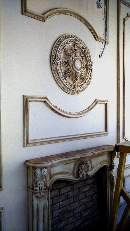 Декорирование покраска камина в Уфе