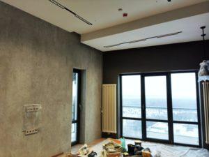 отделка комнаты декоративным кирпичом в Уфе