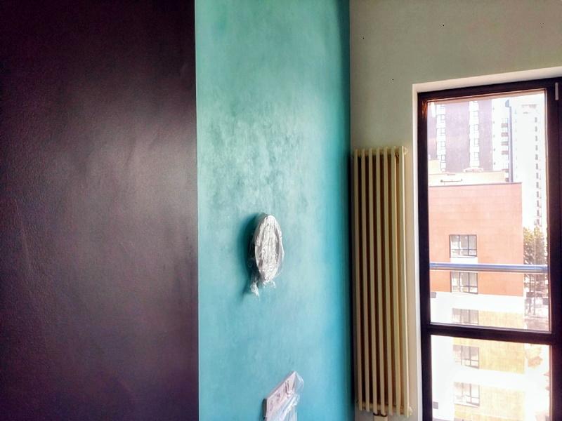 покраска стены под меловую доску в Уфе