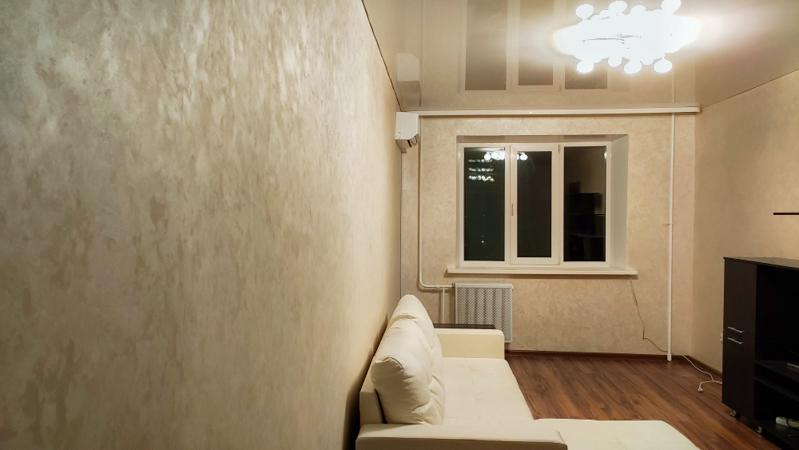 отделка спальни декоративной штукатуркой в Уфе